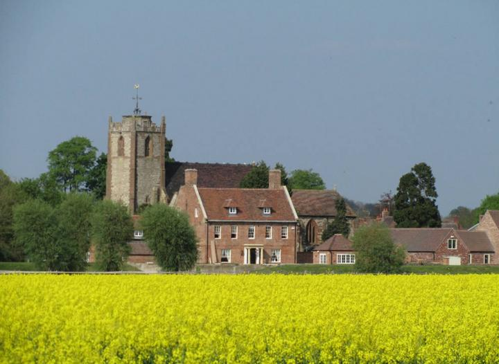 A view of the Long Itchington from Bascote Road